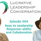 Keys to Team Collaboration and Leadership Responsibility