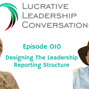 Designing an organizational leadership reporting structure